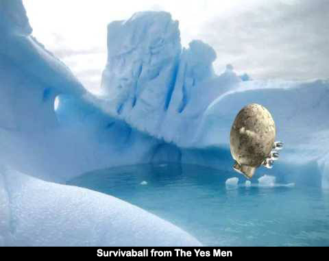 Survivaball from Yes Men