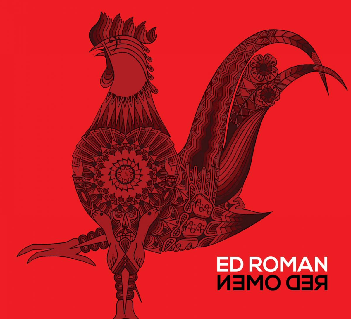 "Ed Roman's new album, ""Red Omen"""