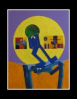 Eugene J. Martin, 2003, h: 24 x w: 18 in, acrylic on canvas