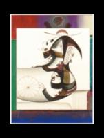 Eugene J. Martin, 2000, h: 12 x w: 9.5 in, mixed media on paper, collage