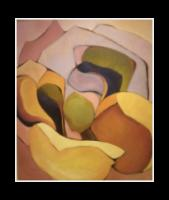 """Magnolia Landscape I"" oil on canvas 48x62"""