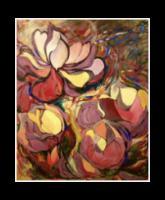 """Magnolia Glory"" oil on canvas 60x72"""