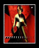 Kazimir Malevich Collaboration 12: the reaper against red