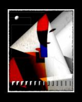 Kazimir Malevich Collaboration 14: female half figure