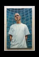 B-Boy (oil on canvas)